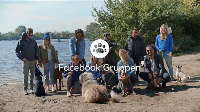 Screenshot aus der Facebook-Werbung